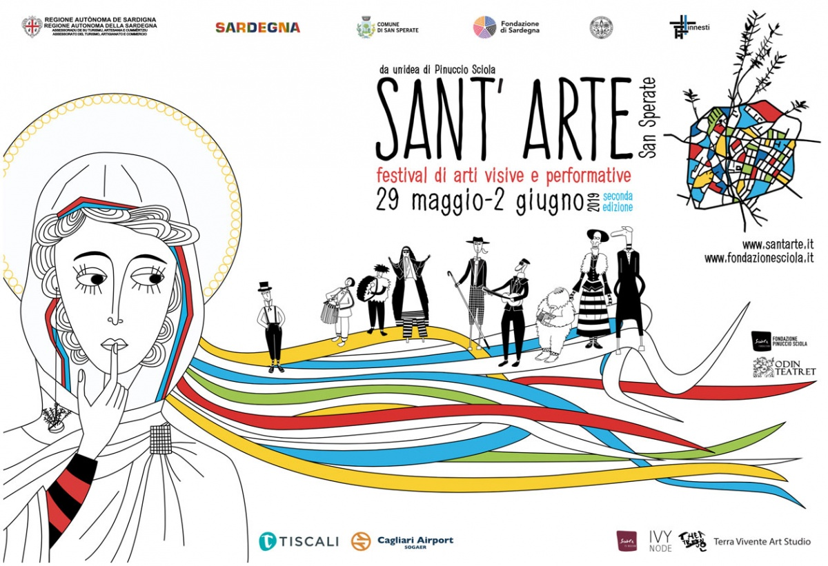 Sant'Arte 2019: l'Odin Teatret a San Sperate nel segno di Pinuccio Sciola