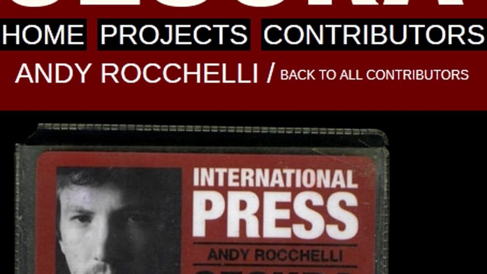 """2014-2019 """"Cinque anni senza Andrea Rocchelli"""": Per non dimenticare e chiedere la Verità!"""