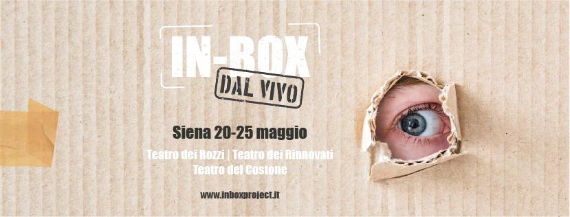"""In-Box Dal vivo 2019 a Siena con Straligut Teatro """"un occhio"""" sul teatro contemporaneo…"""