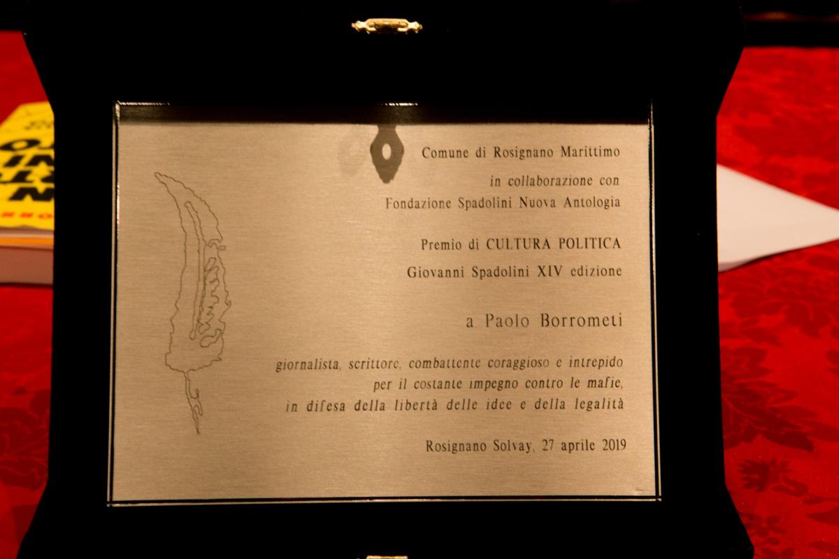Premio Spadolini foto di Saveria Pardini