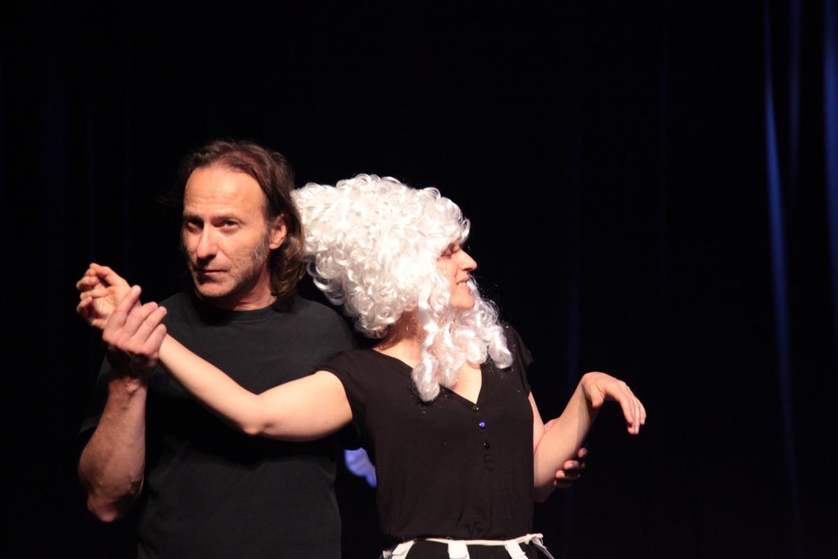 Misantropo al Teatro Sanbàpolis di Trento. Regia di Elena R. Marino