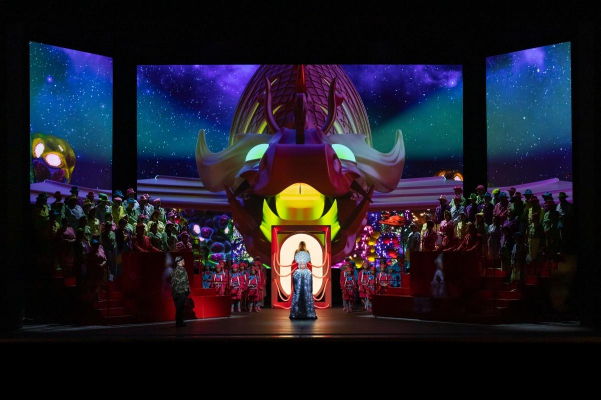 Al Comunale di Bologna, una Turandot avveniristica con Hui He e Gregory Kunde