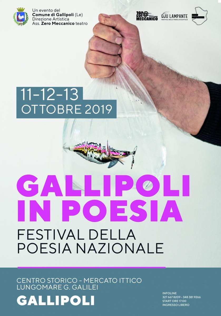 Gallipoli in Poesia: festival della poesia nazionale