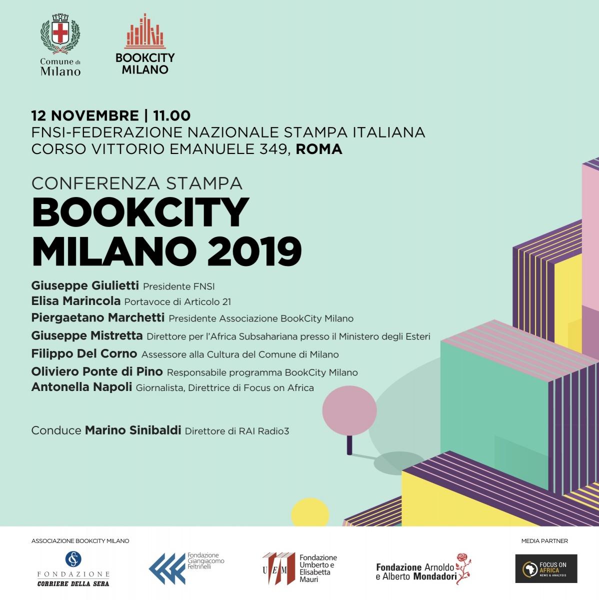 """BookCity Milano 2019: """"Afriche e le periferie dimenticate"""""""