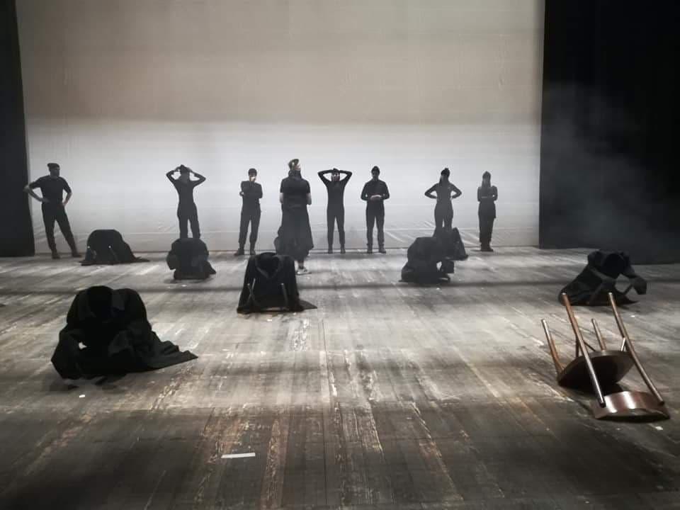 Gusci umani vuoti Cantata drammatica sulla deportazione dei matti dal manicomio di Pergine maggio 1940 regia di Michele Comite Teatro Zandonai 27 maggio 2020