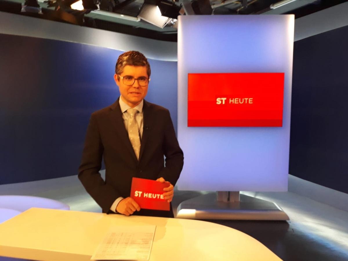 Patrick Rina giornalista redazione ORF di Bolzano