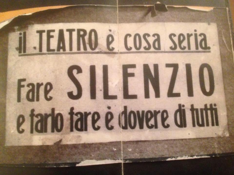 foto di Alessandro Trigona (Per una drammaturgia italiana contemporanea)
