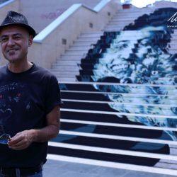 """David Diavù Vecchiato: """"Il bisogno dell'arte come contributo al cambiamento di un sistema economico e sociale""""."""