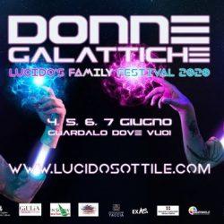 """Il Lucido's Family Festival """"Donne Galattiche"""" edizione on line 2020 con Dacia Maraini e  Aizzah Fatima"""