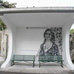 Il murale Daphne Caruana Galizia di Ronchi dei Legionari: 16 ottobre 2020.