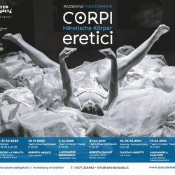 """Teatro La Ribalta di Bolzano: Corpi Eretici """"Più lenti, più dolci, più profondi"""""""