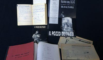 L'archivio di Franco Scaldati alla Fondazione Giorgio Cini di Venezia