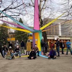 """Teatro dei Venti, Andrea Grazia: colore e poesia per illuminare il """"buio"""" e il parco di Modena"""