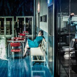 """Un """"Blu"""" malinconico della Biennale Teatro"""