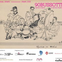 90BUSSOTTI.Ascolti e visioni su Sylvano Bussotti (in memoria dell'artista scomparso)